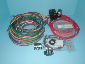 rebel wire wire kits for real rods rebel wire 6 volt 8 circuit right hand drive wiring harness