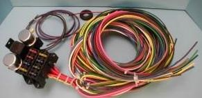 rebel wire 8 circuit right hand drive wiring harness