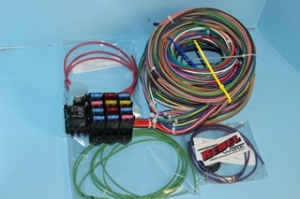 rebel wire wire kits for real rods rh rebelwire com Automotive Wiring Harness Connectors american auto wire gauge harness